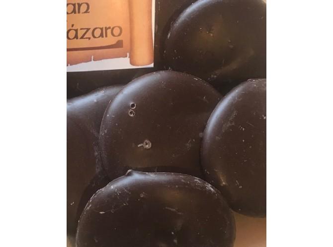 Bondades de chocolate negro y caramelo