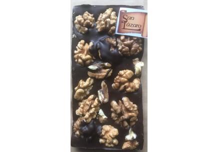 Tableta chocolate negro y nuez