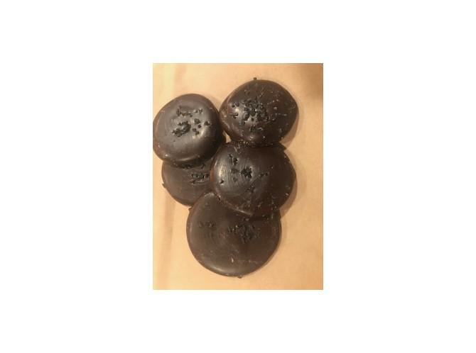 Bondades de chocolate y sal negra de...